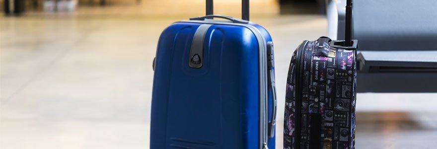 taille parfaite d'une valise cabine pour voyager en avion